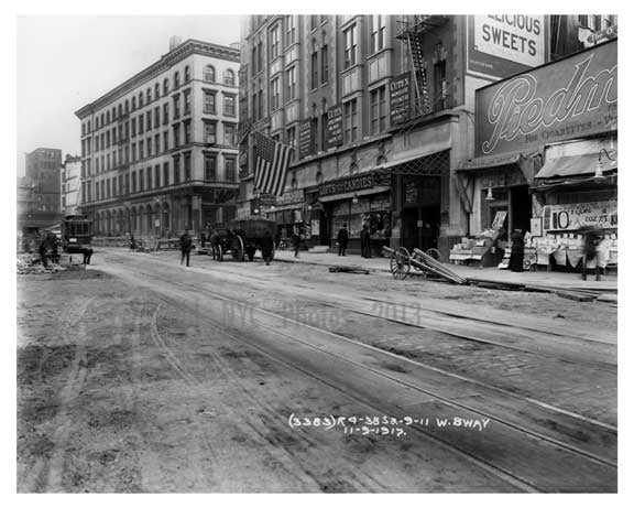 West Broadway 1917 New York, NY Old Vintage Photos and Images