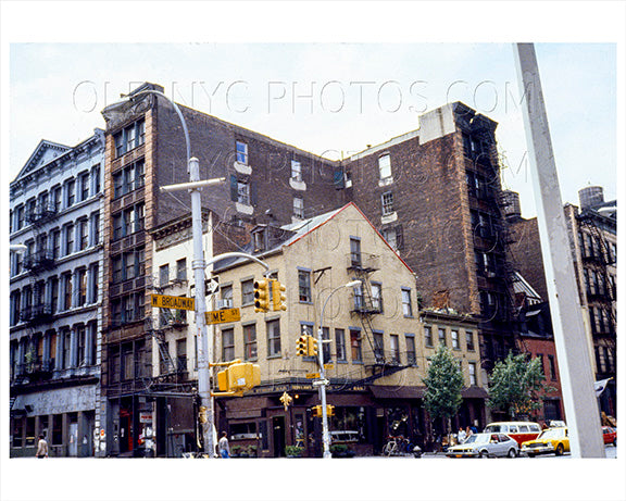 West Broadway & Broome Street SOHO Old Vintage Photos and Images