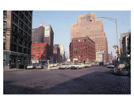 West Broadway & Chambers St - Tribeca - New York, NY Old Vintage Photos and Images