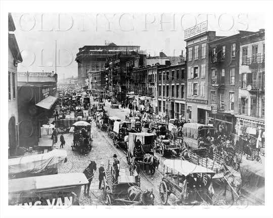 West Street from Battery Manhattan NYC Old Vintage Photos and Images