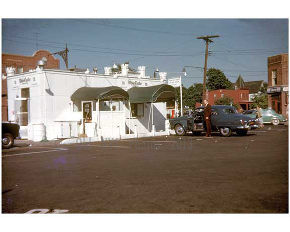 White Castle Fast Food Restaurant 1950's