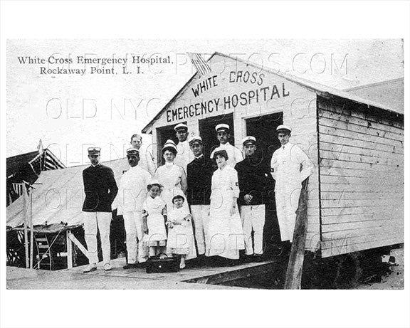 White Cross Hospital Breezy Point Rockaway Point 1925 Old Vintage Photos and Images