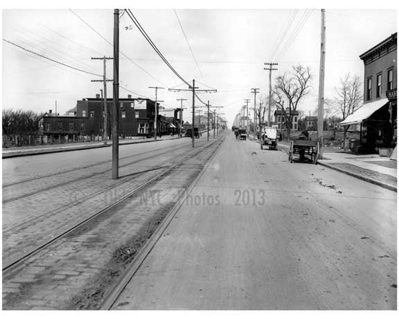 White Plains Road, 1915 Old Vintage Photos and Images