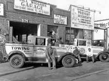 Wiggand's Garage, 3179 Atlantic Avenue, 1940s Old Vintage Photos and Images