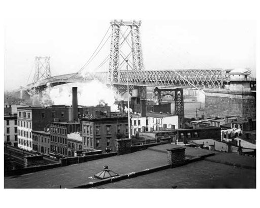 Williamsburg Bridge opened in 1903 -  Brooklyn, NY A