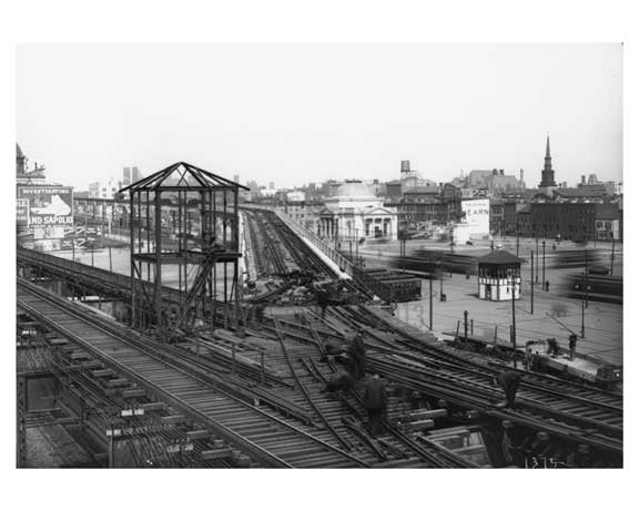Williamsburg  Bridge Plaza Appproach - 1941 Brooklyn, NY