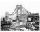 Williamsburg Bridge under construction -  Brooklyn, NY Old Vintage Photos and Images