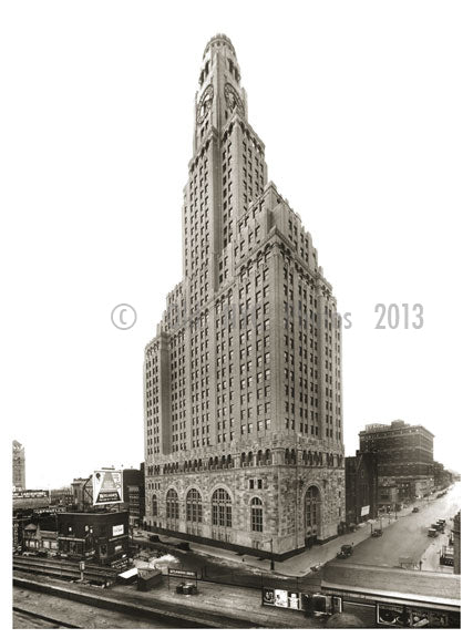 Williamsburg Savings Bank tower at time of completion 1929 - 1 Hanson Place Old Vintage Photos and Images