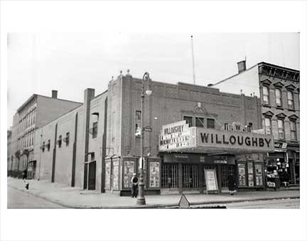 Willoughby Theater Old Vintage Photos and Images