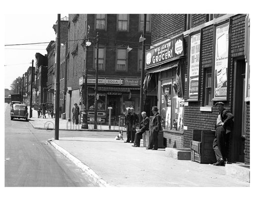 Wilson & Gates Avenue Old Vintage Photos and Images