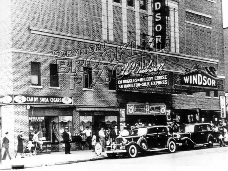 Windsor Theater, 4105 15th Avenue, corner 41st Street, 1933 Old Vintage Photos and Images