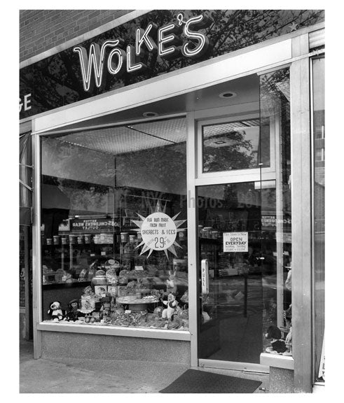 Wolkes Candy Shop 37th Ave Old Vintage Photos and Images