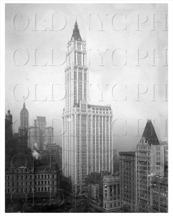 Woolworth Building 15 Barclay St Manhattan NYC Old Vintage Photos and Images