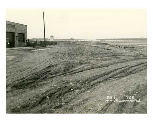 Worlds Fair site 1937 prior to construction - Flushing - Queens - NYC Old Vintage Photos and Images