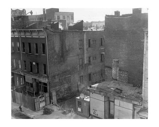 WPA tears down the wrong building 1938 - Manhattan  NYC Old Vintage Photos and Images