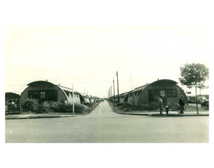 WW2 Quonset Huts 1 - Canarsie Brooklyn NY Old Vintage Photos and Images