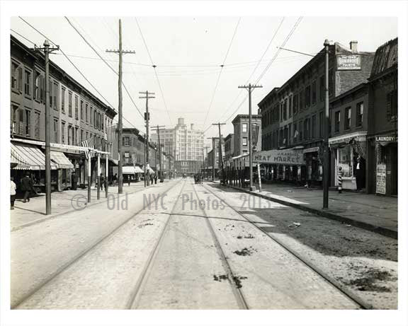 Wythe & Taylor Streets Williasburg 1912 Brooklyn NY Old Vintage Photos and Images
