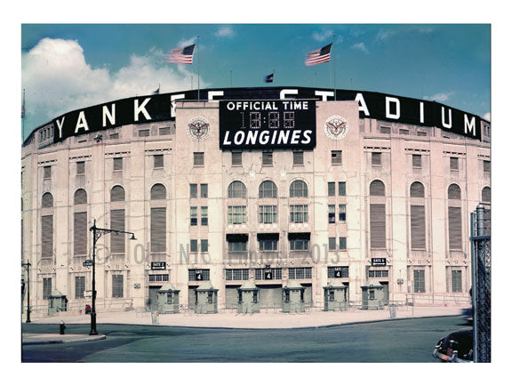 Yankee Stadium in 1957