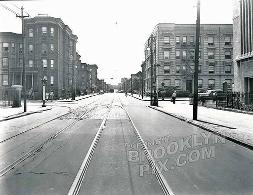 YMCA and Bedford Avenue and Monroe Street, 1913