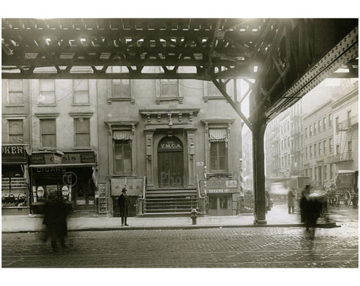 """YMCA"" at Broome Street 1916 Old Vintage Photos and Images"