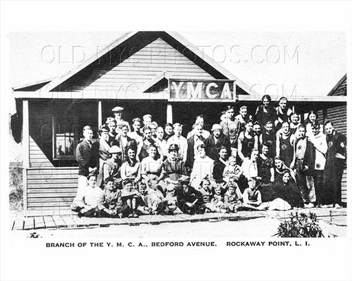 YMCA Bedford Avenue Breezy Point Rockaway Point 1925 Old Vintage Photos and Images