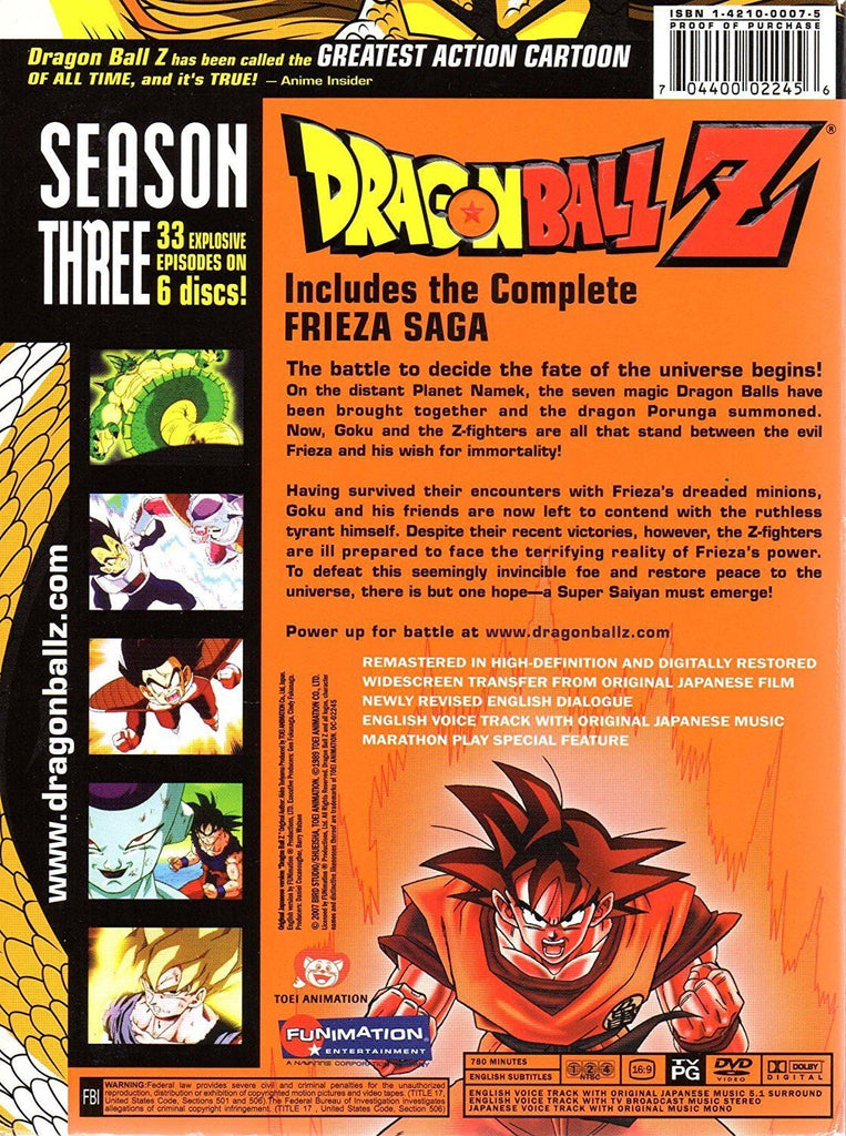 Dragon Ball Z Full Series Free Download