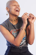 Our model Charisma dancing in her JoRocco Jewelry