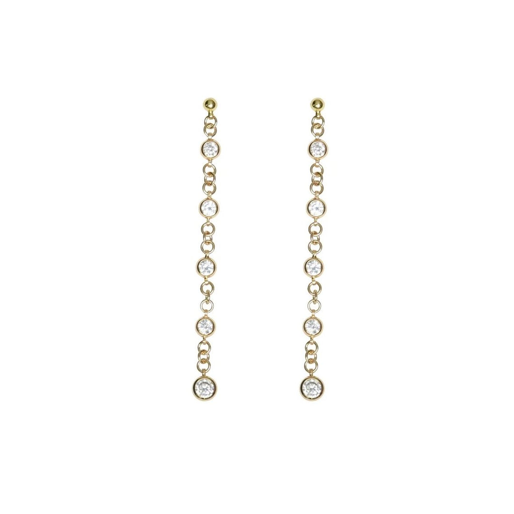 JULZ EARRINGS GOLD
