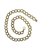 Gold waist chain for women.