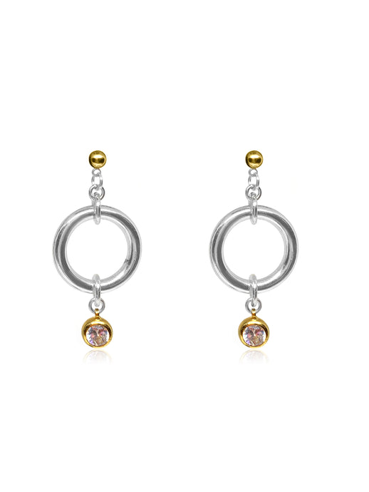 Women's diamond statement earrings wedding.