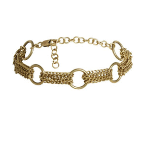 ACE CHOKER GOLD