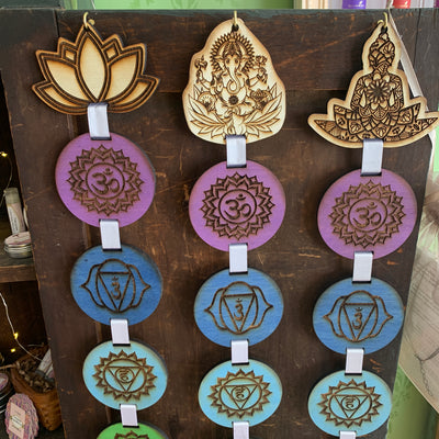 Chakra Banner - Mystic Pines Candle Co.