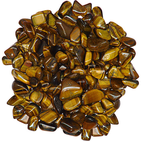 Tumbled Stone Gold Tiger Eye