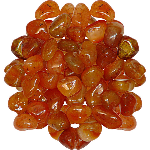 Tumbled Stone Carnelian - Mystic Pines Candle Co.