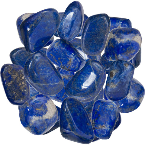 Tumbled Stone Lapis Lazuli - Mystic Pines Candle Co.