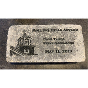 Custom Brick Engraving ~ Etching ~ Painting - Mystic Pines Candle Co.