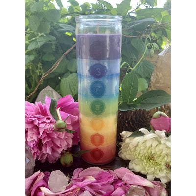 Alight & Align Chakra Candle - Mystic Pines Candle Co.