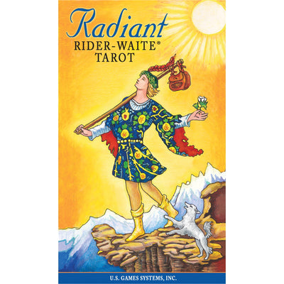 Radiant Rider-Waite® Tarot - Mystic Pines Candle Co.