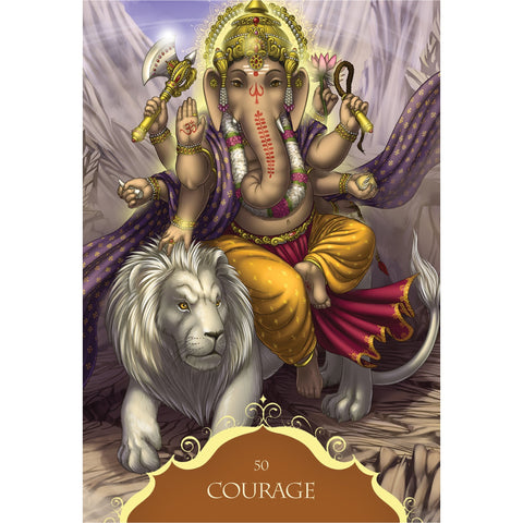 Whispers of Lord Ganesha Oracle Cards - Mystic Pines Candle Co.