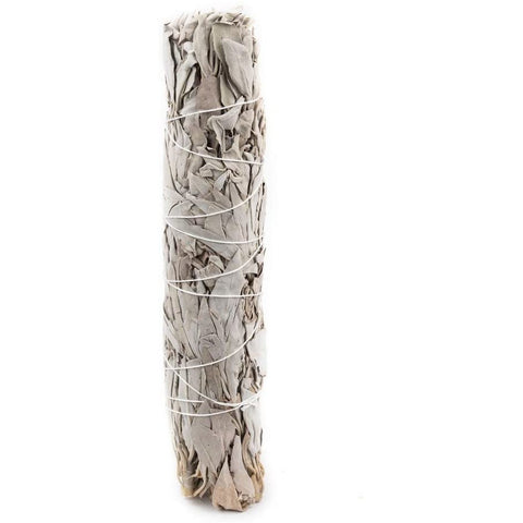 "Sage - California White Sage 8""L 1.5""W (1 Stick) - Mystic Pines Candle Co."