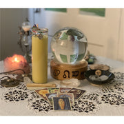 30 Minute Intuitive Blend Prayer Candle with a Reading - Mystic Pines Candle Co.