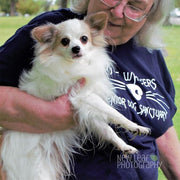 White Whisker's Senior Dog Sanctuary Candle - Mystic Pines Candle Co.