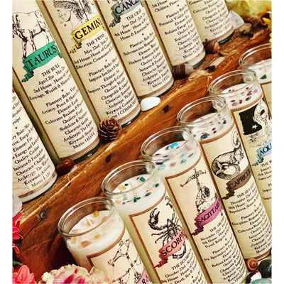 What's Your Sign? - Zodiac Candles - Mystic Pines Candle Co.