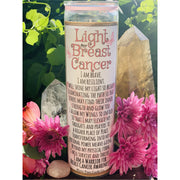 Light for Breast Cancer Awareness - Mystic Pines Candle Co.