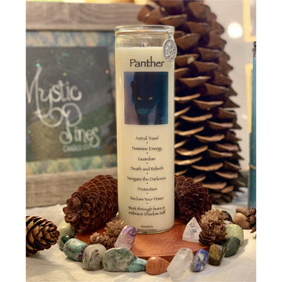 Panther ~ Animal Totem - Mystic Pines Candle Co.
