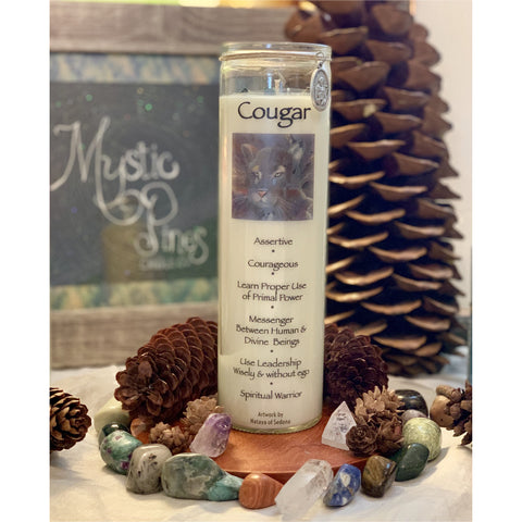 Cougar ~ Animal Totem - Mystic Pines Candle Co.