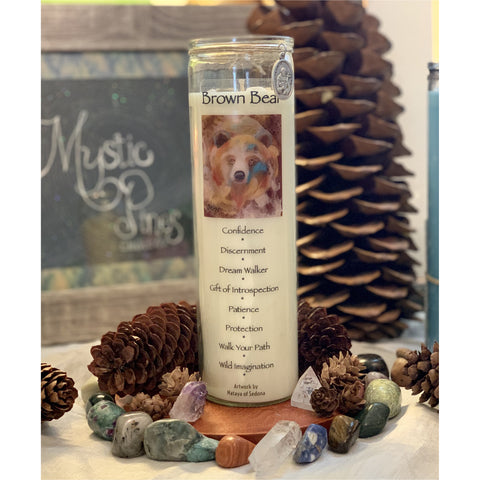 Brown Bear ~ Animal Totem - Mystic Pines Candle Co.