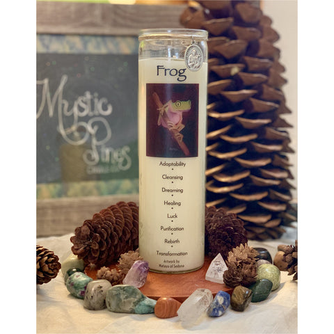 Frog ~ Animal Totem - Mystic Pines Candle Co.