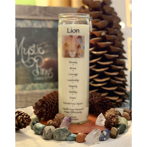 Lion - Animal Totem - Mystic Pines Candle Co.