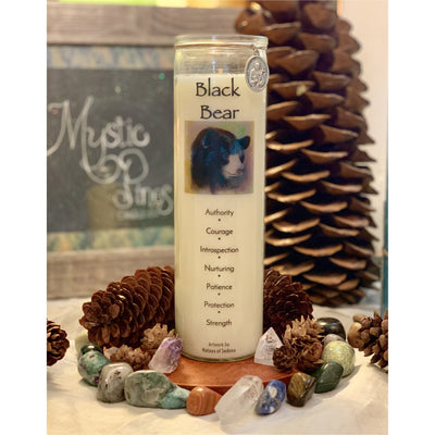 Black Bear ~ Animal Totem - Mystic Pines Candle Co.